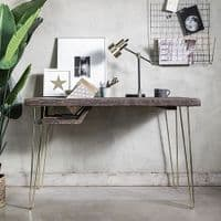 Copper And Black Metal Wall Organiser | Home Accessories
